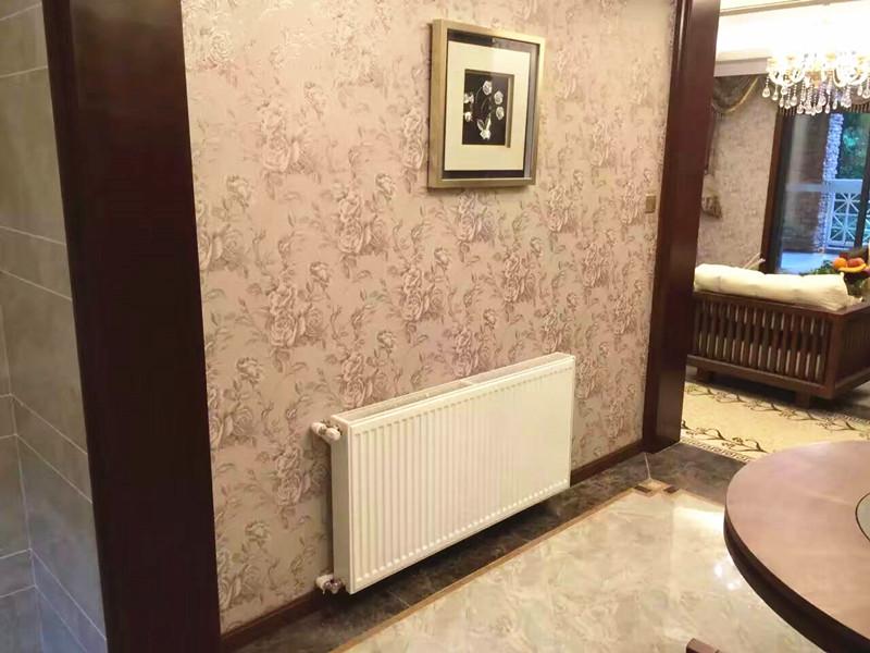 老房安装暖气片